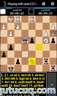 Chess ChessOK Playing Zone PGN ekran görüntüsü