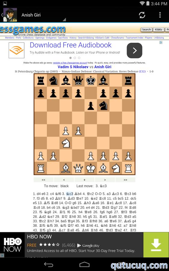 Chess Masters 4 ekran görüntüsü