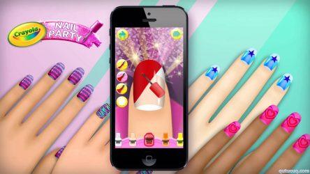 Crayola Nail Party: Nail Salon ekran görüntüsü
