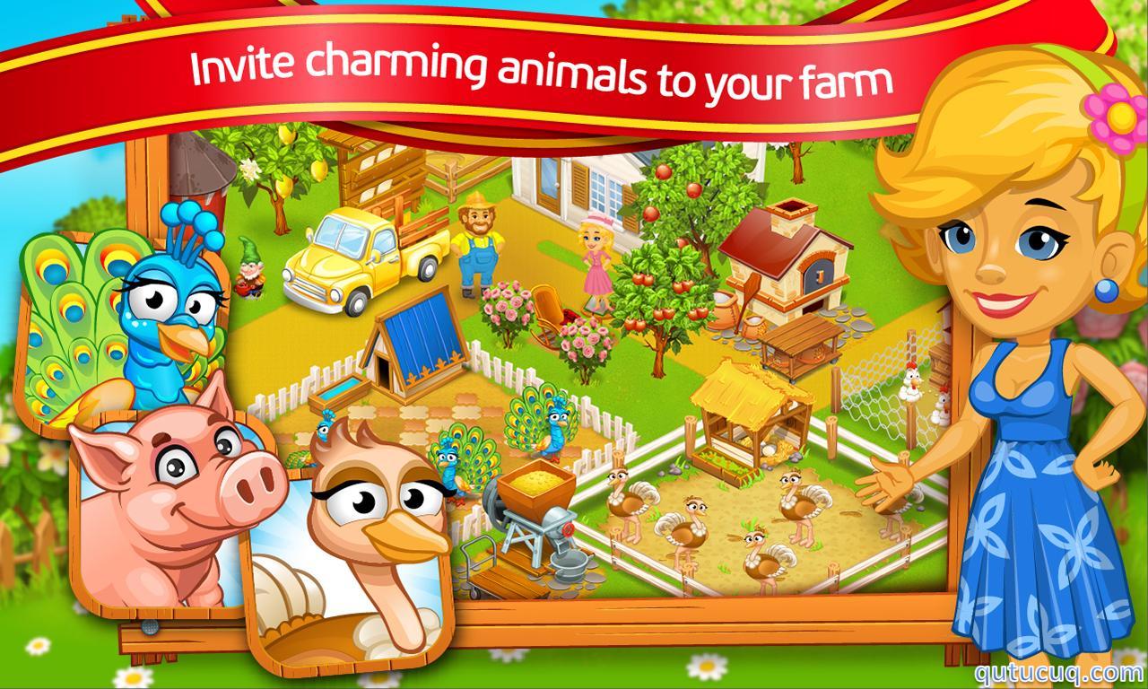 Farm Town: Cartoon Story ekran görüntüsü