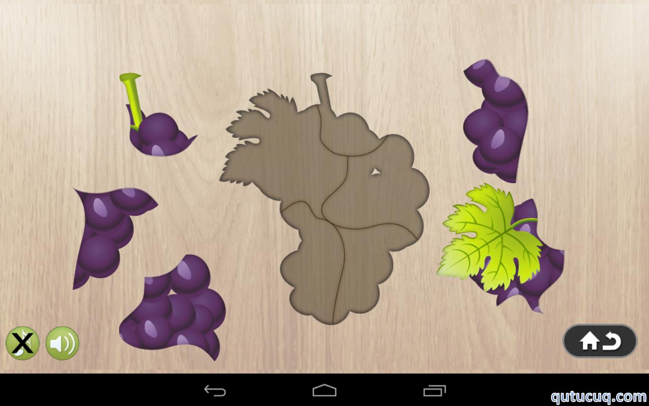 Food puzzle ekran görüntüsü