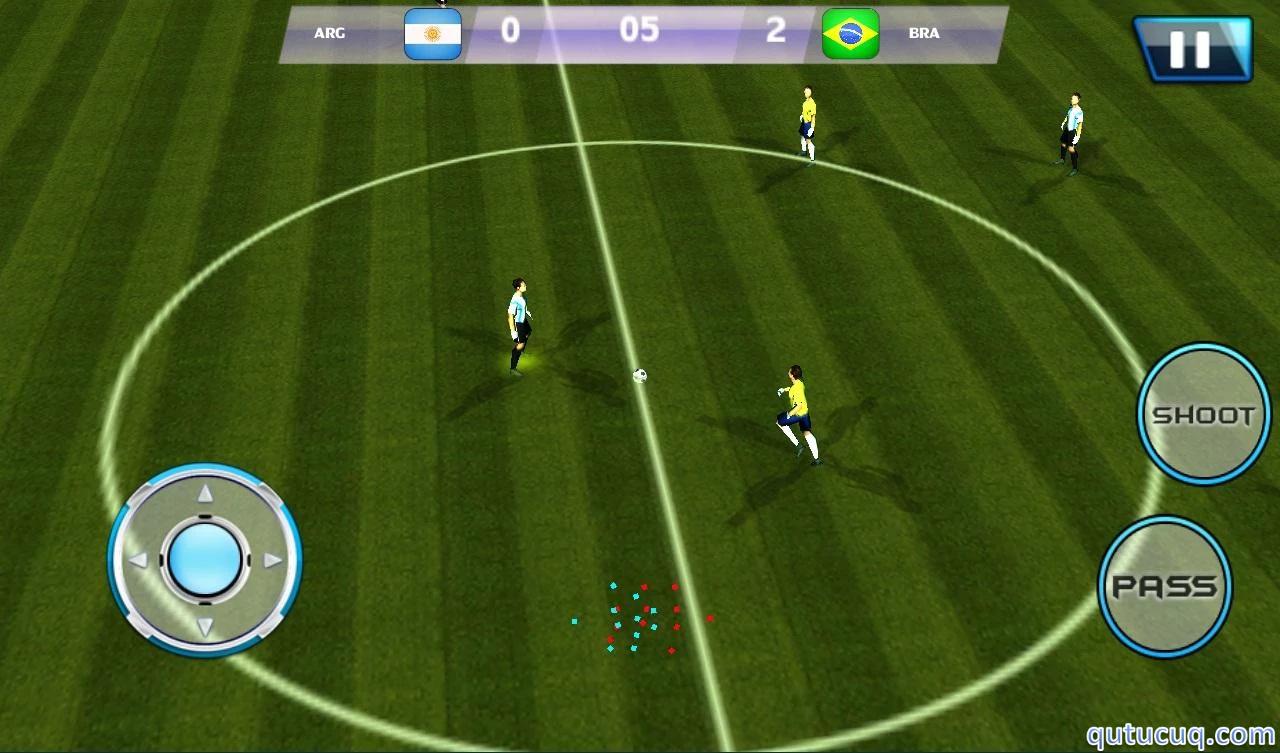 Football 2015: Real Soccer ekran görüntüsü