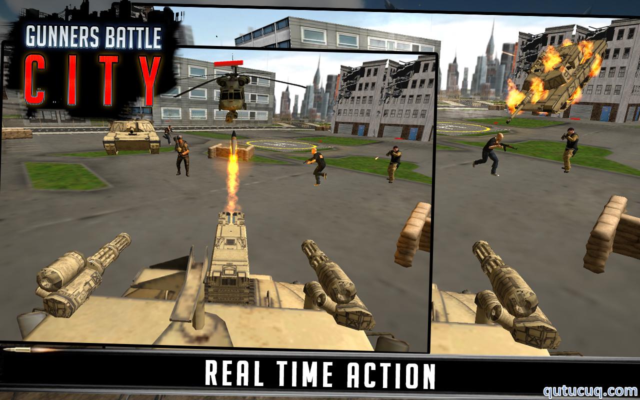 Gunner Battle City ekran görüntüsü