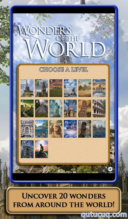 Скриншот в Hidden Scenes — World Wonders