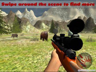 Jungle Sniper Hunting 3D ekran görüntüsü