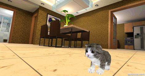 Kitten Cat Simulator 3D Craft ekran görüntüsü