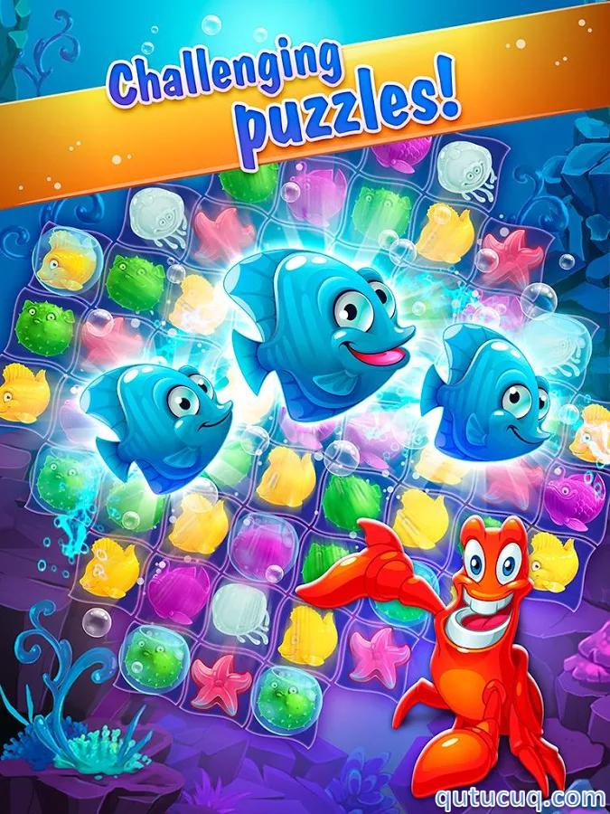 Mermaid puzzle ekran görüntüsü