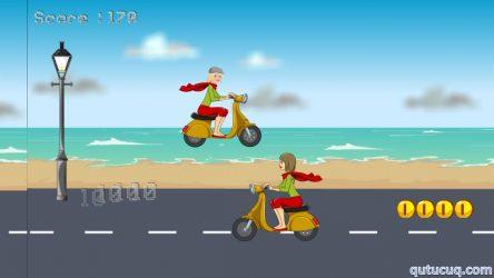 Miss Barbie Scooter Ride ekran görüntüsü