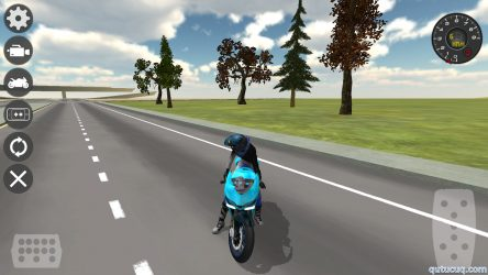 Motorbike Driving Simulator 3D ekran görüntüsü