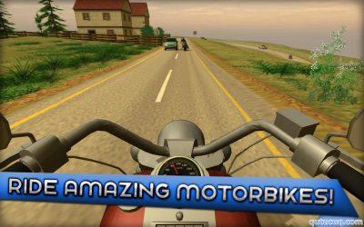 Motorcycle Driving 3D ekran görüntüsü