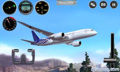 Plane Simulator 3D ekran görüntüsü
