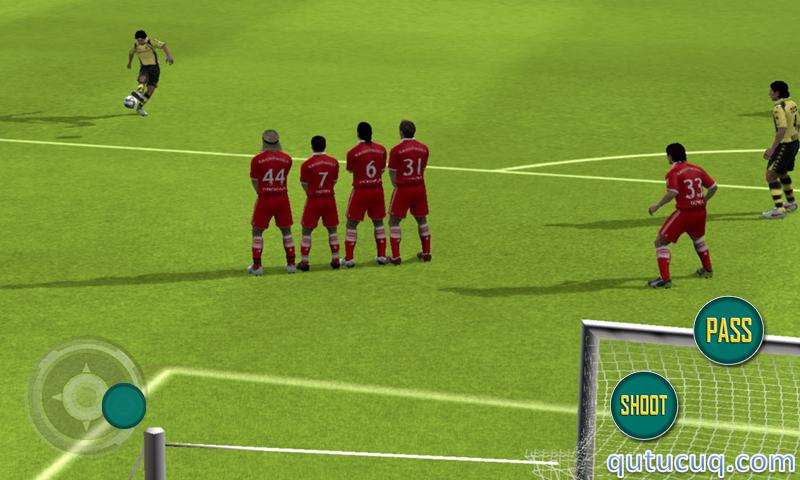 Real Football 2015 ekran görüntüsü