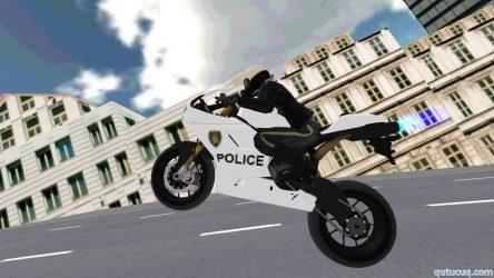 Police Motorbike Simulator 3D ekran görüntüsü
