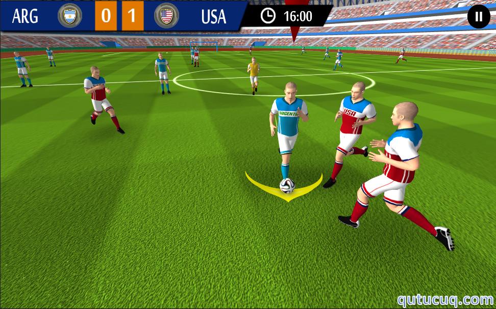 Real Football Game 2016 ekran görüntüsü