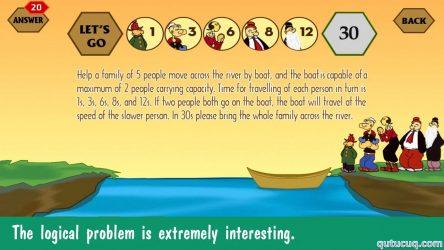 River Crossing IQ ekran görüntüsü