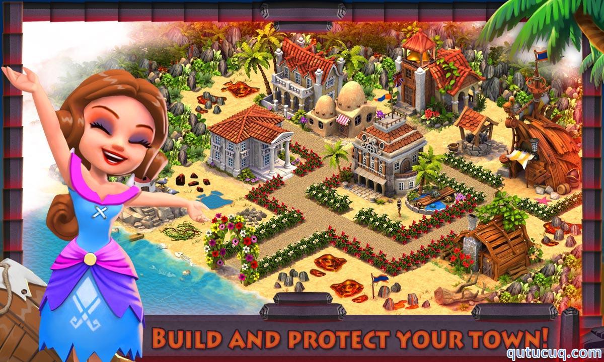 Shipwrecked: Volcano Island ekran görüntüsü