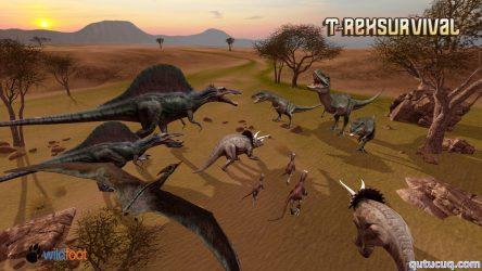 T-Rex Survival Simulator ekran görüntüsü