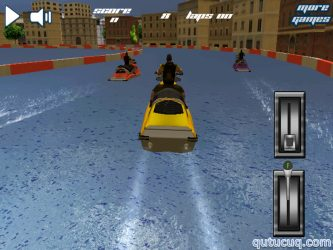 Water Motorcycle 3D ekran görüntüsü