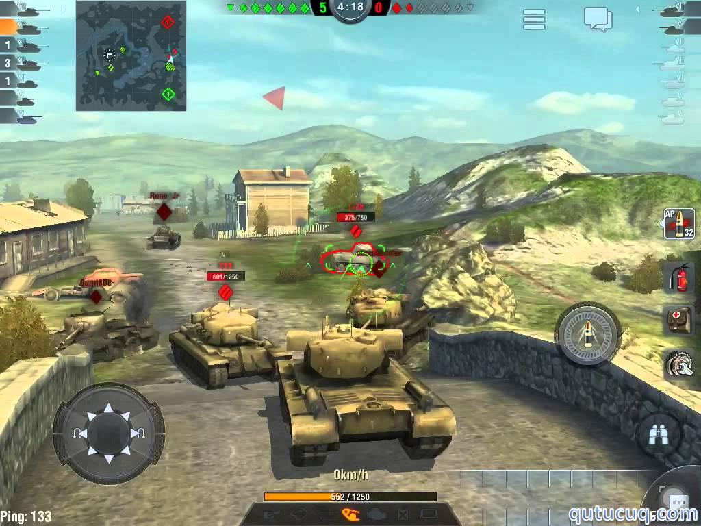 World of Tanks Blitz ekran görüntüsü
