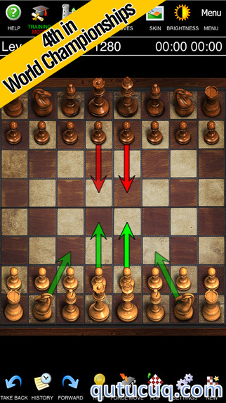 Скриншот в Chess Pro with Coach — Шахматы с тренером