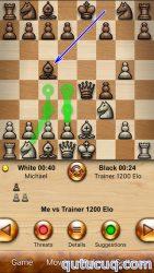 Chess Free – with coach ekran görüntüsü