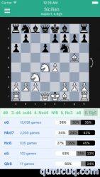 Chess Openings Explorer ekran görüntüsü