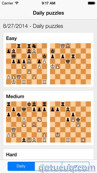 Chess Tactics Pro ekran görüntüsü