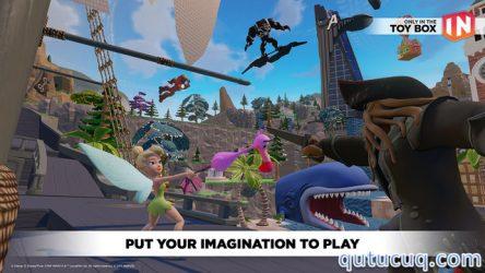 Disney Infinity: Toy Box 3.0 ekran görüntüsü