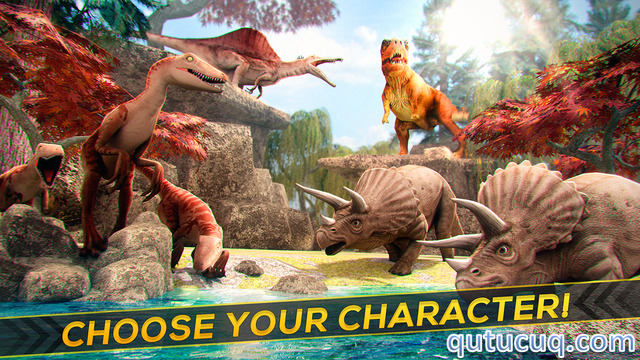 Jurassic Dinos Yüklə ekran görüntüsü