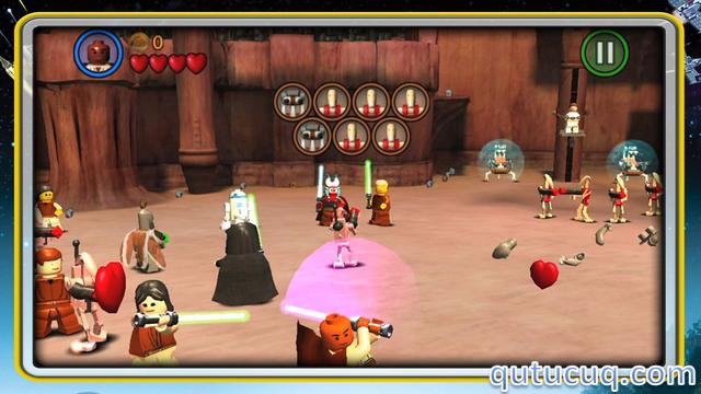 LEGO  Star Wars: The Complete Saga ekran görüntüsü