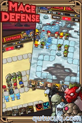 Mage Defense ekran görüntüsü