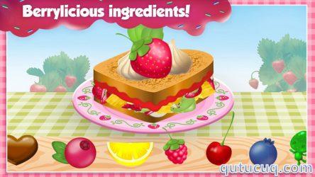 Strawberry Shortcake Food Fair ekran görüntüsü