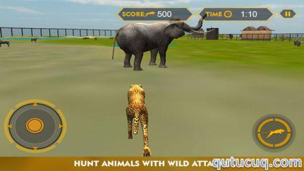 Wildlife Cheetah Attack Simulator 3D ekran görüntüsü