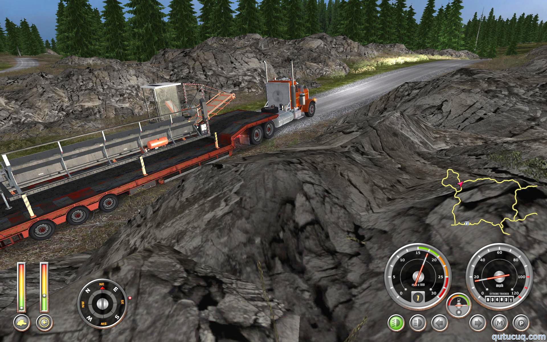 18 Wheels of Steel: Extreme Trucker 2 ekran görüntüsü