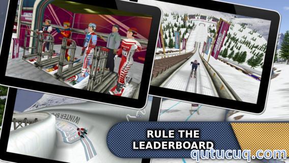 Athletics: Winter Sports ekran görüntüsü