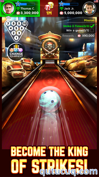 Bowling King ekran görüntüsü