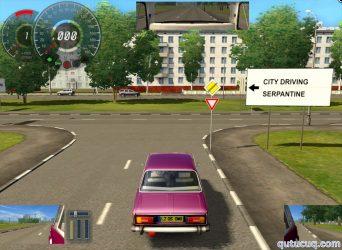 City Car Driving ekran görüntüsü