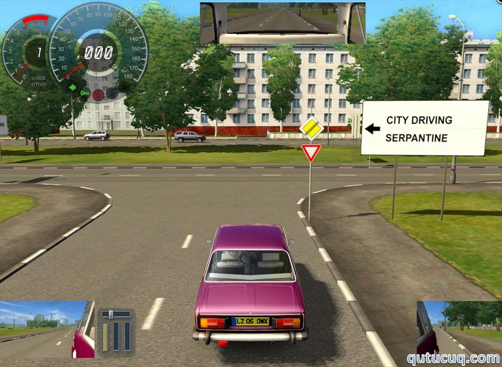 City Car Driving Yüklə ekran görüntüsü