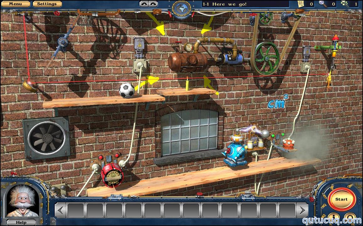 Crazy Machines 2 ekran görüntüsü