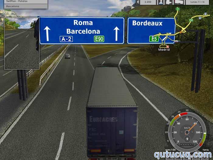 Euro Truck Simulator Yüklə ekran görüntüsü