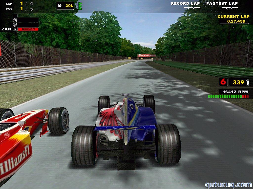F1 Racing Championship ekran görüntüsü