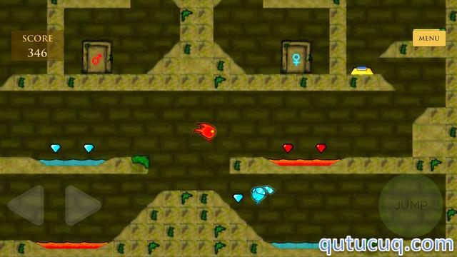 Fireboy and Watergirl: Forest Temple ekran görüntüsü