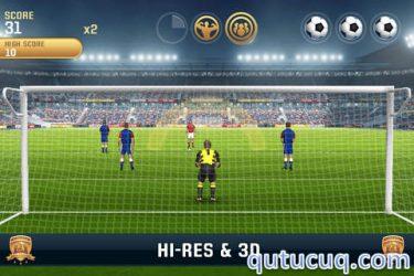 Flick Kick Goalkeeper ekran görüntüsü