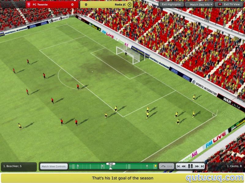 Football Manager 2011 Strawberry ekran görüntüsü