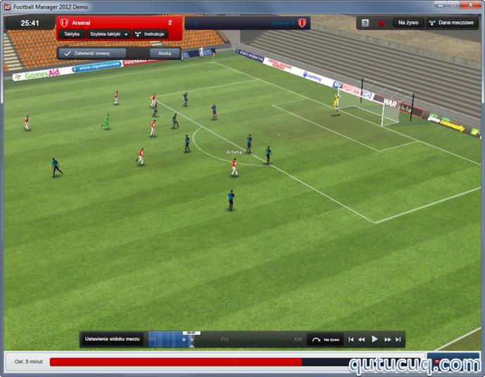 Footbol Manager 2012 ekran görüntüsü