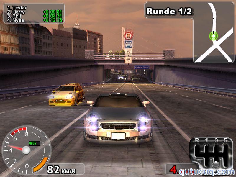 German Street Racing ekran görüntüsü