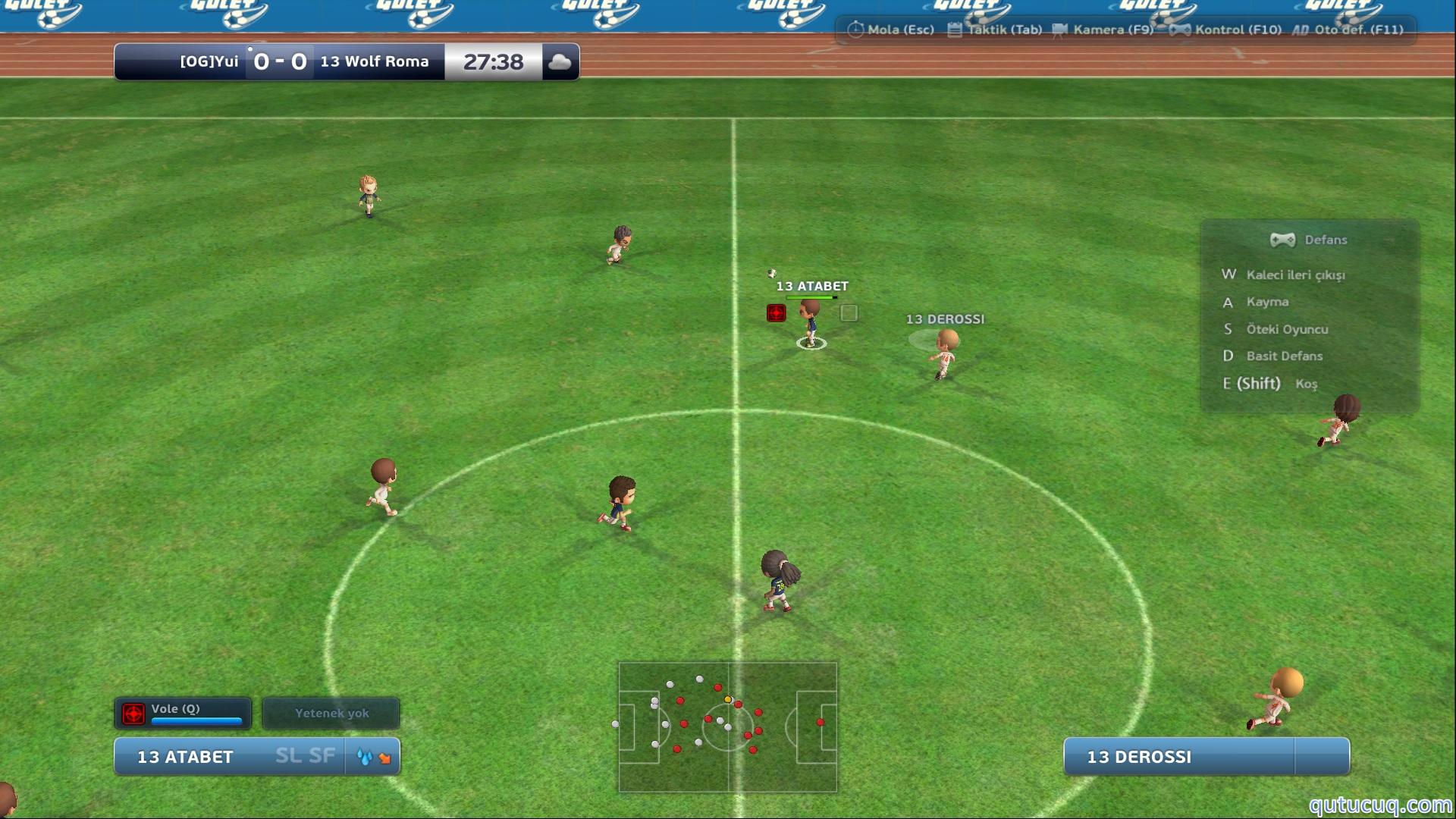 Goley ekran görüntüsü