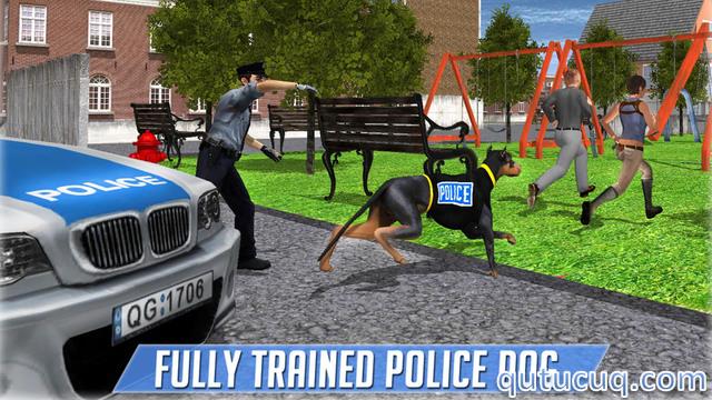 Police Dog Criminal Chase ekran görüntüsü