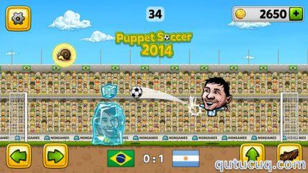 Puppet Soccer 2014 ekran görüntüsü
