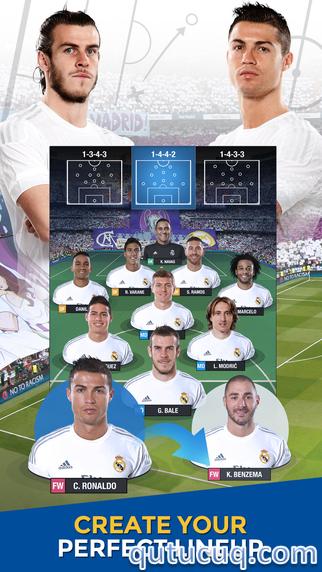 Real Madrid Fantasy Manager 2016 ekran görüntüsü